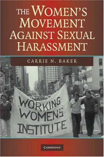 Women's Movement Against Sexual Harassment   2008 edition cover