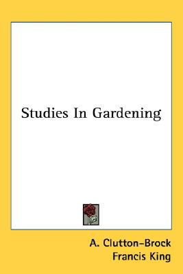 Studies in Gardening N/A 9780548480946 Front Cover