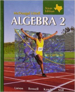 Algebra 2, Grades 9-12: McDougal Littell High School Math Missouri  2007 9780618923946 Front Cover
