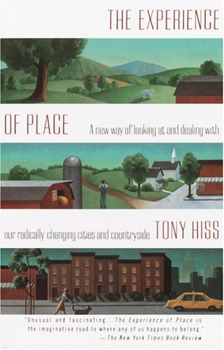 Experience of Place A New Way of Looking at and Dealing with Our Radically Changing Cities and Countryside  1991 edition cover