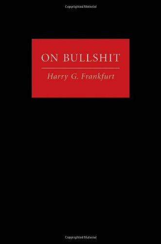 On Bullshit   2005 edition cover