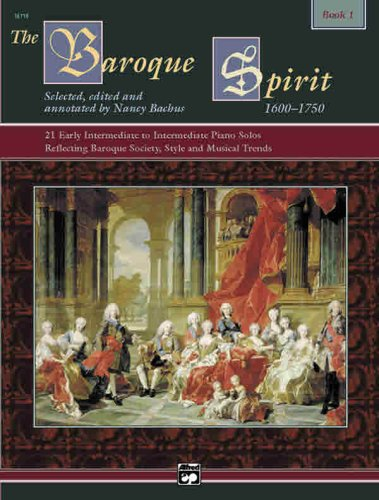 Baroque Spirit, Bk 1 Book and CD  1999 edition cover