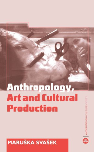 Anthropology, Art and Cultural Production Histories, Themes, Perspectives  2007 9780745317946 Front Cover