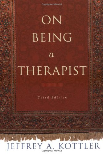 On Being a Therapist  3rd 2003 (Revised) edition cover