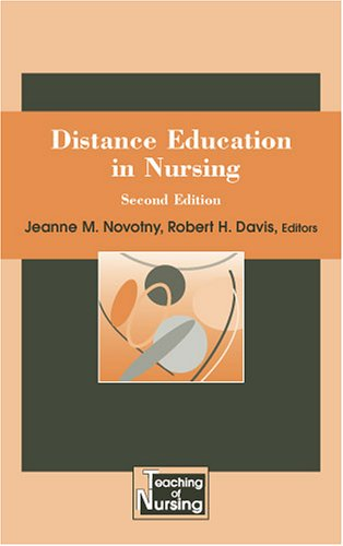 Distance Education in Nursing  2nd 2006 edition cover