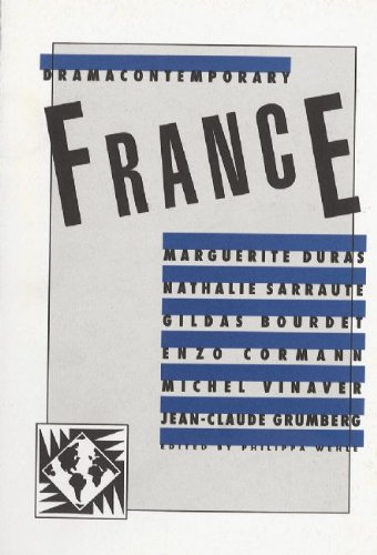 Drama Contemporary France N/A edition cover