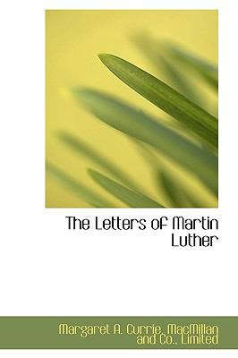 Letters of Martin Luther N/A 9781115283946 Front Cover