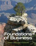 Foundations of Business:   2014 9781285193946 Front Cover