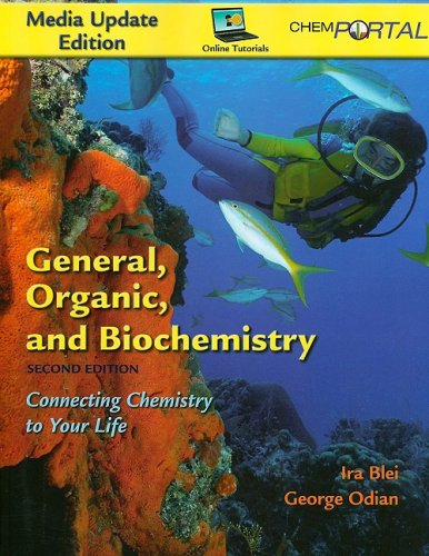 General, Organic, and Biochemistry Media Update  2nd 2009 edition cover