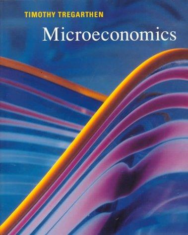 Microeconomics 1st edition cover
