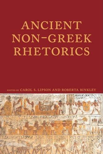 Ancient Non-Greek Rhetorics   2009 edition cover