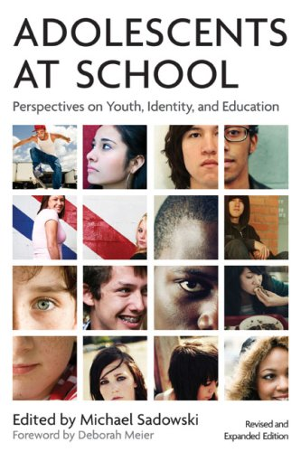 Adolescents at School Perspectives on Youth, Identity, and Education 2nd 2008 edition cover