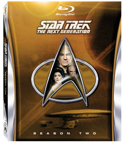 Star Trek: The Next Generation: Season 2 [Blu-ray] System.Collections.Generic.List`1[System.String] artwork
