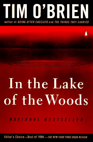 In the Lake of the Woods   1994 edition cover