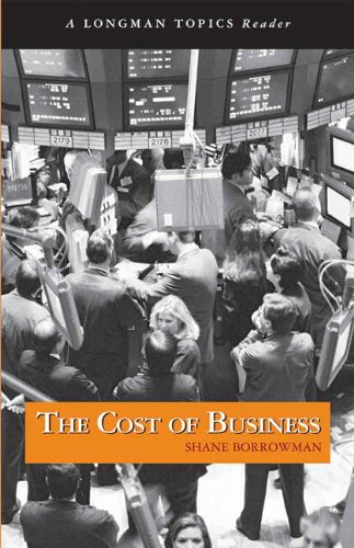 Cost of Business   2011 edition cover