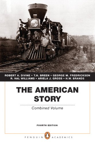 American Story Combined Volume (Penguin Academics Series) 4th 2011 edition cover