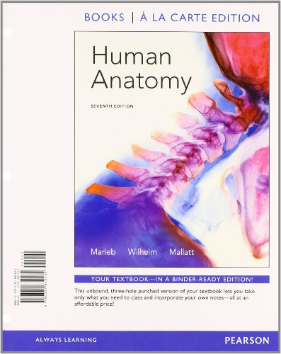 Human Anatomy, Books a la Carte Plus MasteringA&P with EText -- Access Card Package  7th 2014 edition cover