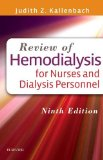 Review of Hemodialysis for Nurses and Dialysis Personnel  9th 2016 edition cover