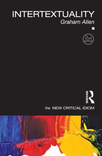 Intertextuality  2nd 2011 (Revised) edition cover