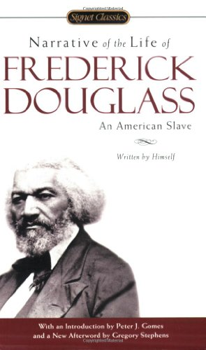 Narrative of the Life of Frederick Douglas An American Slave  2005 edition cover