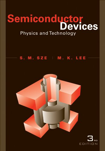 Semiconductor Devices Physics and Technology 3rd 2013 edition cover