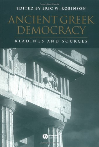 Ancient Greek Democracy Readings and Sources  2003 edition cover