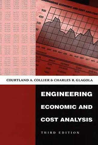 Engineering Economic and Cost Analysis  3rd 1999 edition cover