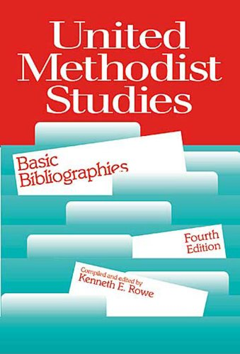 United Methodist Studies Basic Bibliographies 4th edition cover