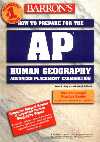 How to Prepare for the AP Human Geography Exam   2003 9780764120947 Front Cover