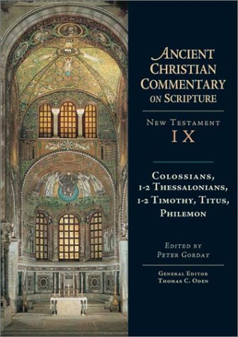 Colossians, 1-2 Thessalonians, 1-2 Timothy, Titus, Philemon   2000 edition cover