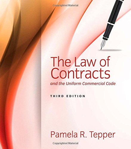The Law of Contracts and the Uniform Commercial Code:   2014 edition cover