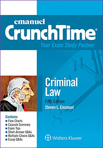 Criminal Law Crunchtime  5th 2015 (Student Manual, Study Guide, etc.) edition cover