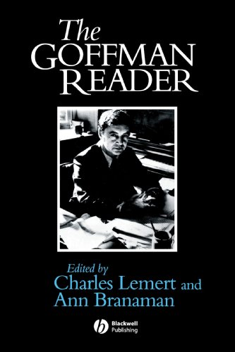 Goffman Reader   1997 edition cover