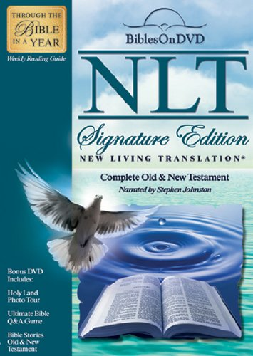 NLT Signature Edition Bible: Complete Old & New Testament System.Collections.Generic.List`1[System.String] artwork
