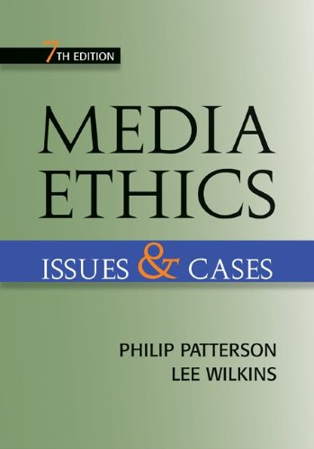 Media Ethics Issues and Cases 7th 2011 edition cover