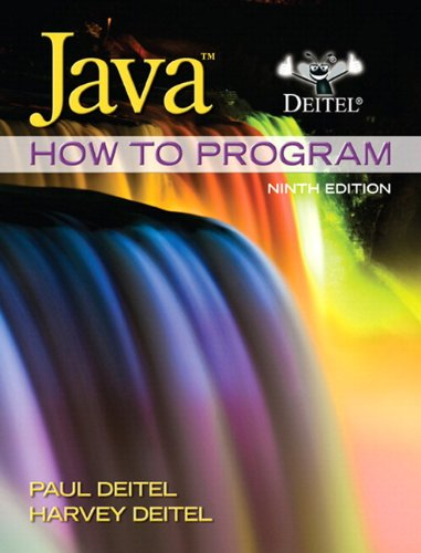 Java How to Program  9th 2012 edition cover