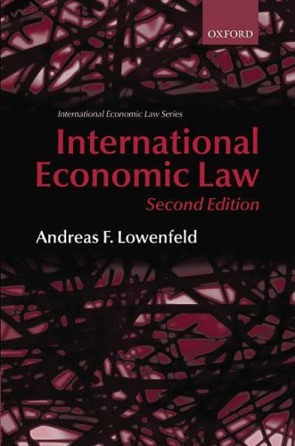 International Economic Law  2nd 2008 (Revised) edition cover