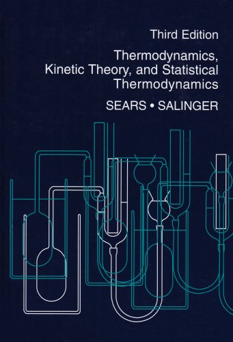 Thermodynamics, Kinetic Theory, and Statistical Thermodynamics  3rd 1975 (Revised) edition cover