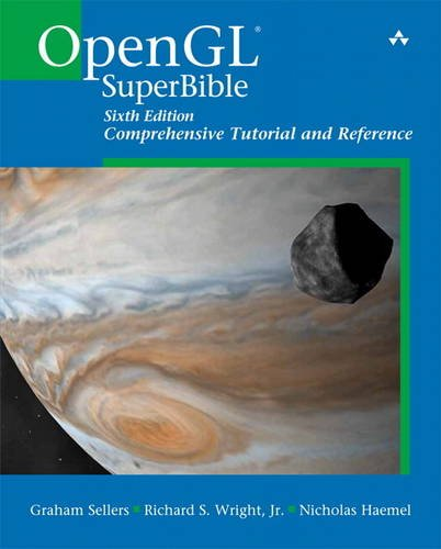 OpenGL SuperBible Comprehensive Tutorial and Reference 6th 2014 edition cover