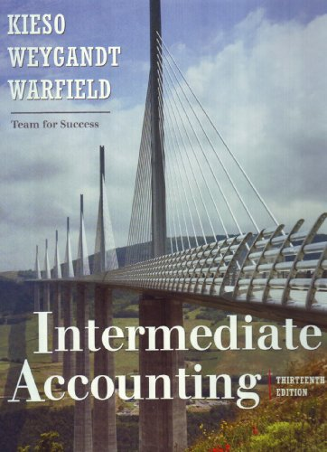 Intermediate Accounting  13th 2010 edition cover