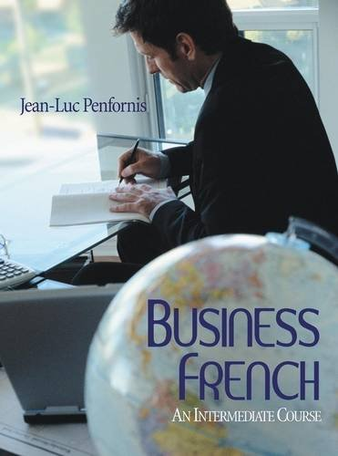 Business French An Intermediate Approach  2006 edition cover