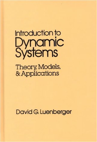 Introduction to Dynamic Systems Theory, Models, and Applications  1979 edition cover