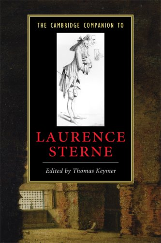 Cambridge Companion to Laurence Sterne   2009 edition cover