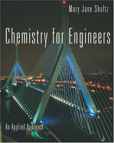 Chemistry for Engineers An Applied Approach  2007 edition cover