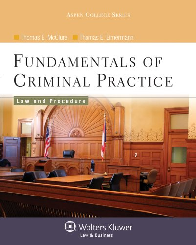 Criminal Law and Procedure for the Paralegal  N/A 9780735570948 Front Cover