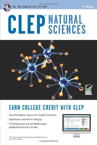 CLEP Natural Sciences W/Online Practice Tests:   2013 edition cover