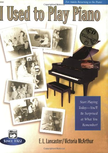 I Used to Play Piano For Adults Returning to the Piano  2003 edition cover