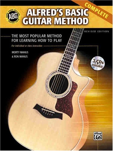 Alfred's Basic Guitar Method The Most Popular Method for Learning How to Play 3rd 2002 (Revised) edition cover