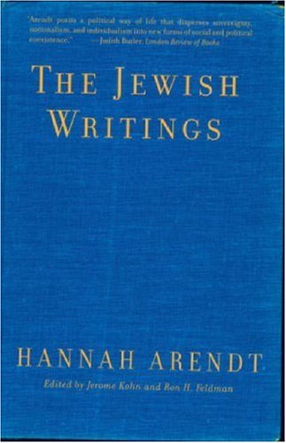 Jewish Writings   2007 edition cover