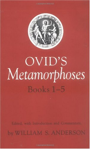 Ovid's Metamorphoses   1997 edition cover